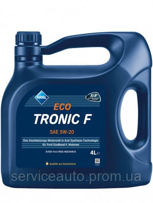 Моторное масло Aral EcoTronic F SAE 5W-20 4л (ar13)