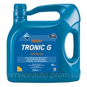 Моторное масло Aral HighTronic G SAE 5W-30 4л (ar22)