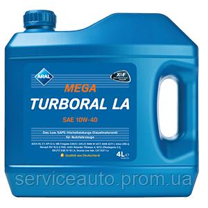 Моторное масло Aral MegaTurboral LA SAE 10W-40 4л (ar32)