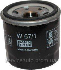 Фильтр масляный MANN W 67