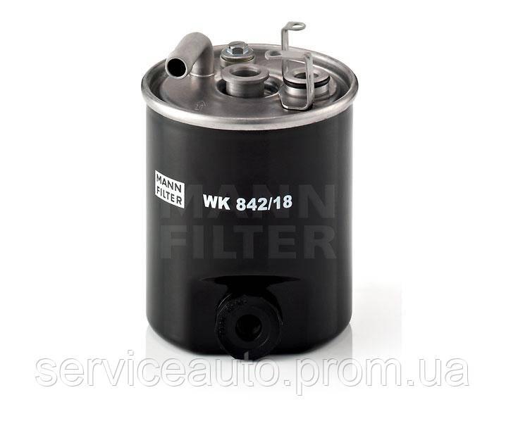 Фильтр топливный MANN WK 842/18