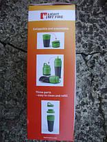 Набор фляга и два стакана LIGHT MY FIRE Pack-up-Drink Kit 50694740, фото 3