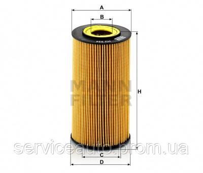 Фильтрующий элемент масляного фильтра MANN HU 934X