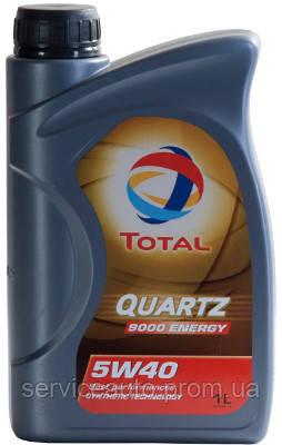 Моторное масло Total Quartz 9000 Energy 5W-40 1 л (166245)