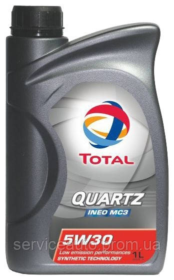 Моторное масло Total Quartz INEO MC3 5W-30 1 л (166254)