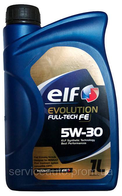 Моторное масло Elf Evolution Full-Tech FE 5W-30 1 л (194906)