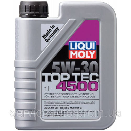 Моторное масло Liqui Moly Top Tec 4500 5W-30 1 л (2317)