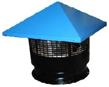 Вентилятор крышный радиальный (центробежный) КВЦ4, фото 2