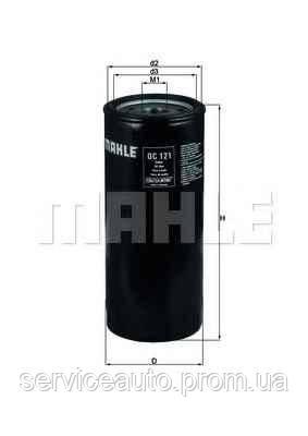 Фильтр масляный MAHLE OC121 (MX8797825)