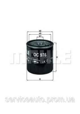 Фильтр масляный MAHLE OC976 (MX8797783)