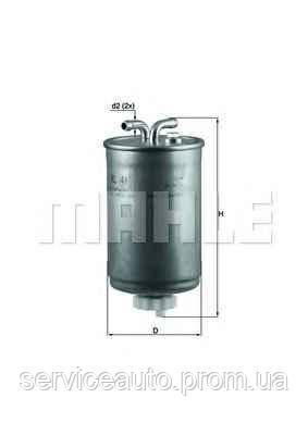 Фильтр топливный MAHLE KL416/1 (MX8798259)