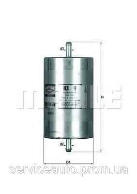 Фильтр топливный MAHLE KL9 (MX8798245)