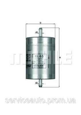 Фильтр топливный MAHLE KL65 (MX8798497)