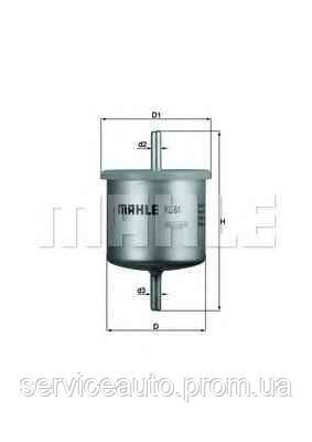 Фильтр топливный MAHLE KL61 (MX8798392)