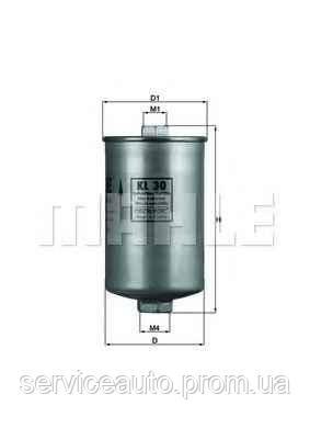 Фильтр топливный MAHLE KL30 (MX8798371)