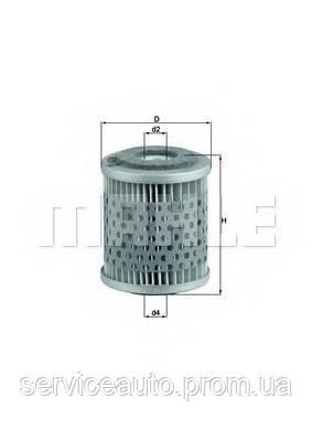 Фильтрующий элемент топливного фильтра MAHLE KX38 (MX8798875)