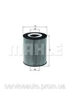 Фильтрующий элемент масляного фильтра MAHLE OX146DECO (MX8798763)