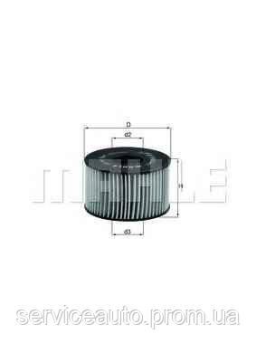 Фильтрующий элемент масляного фильтра MAHLE OX191DECO (MX8798742)