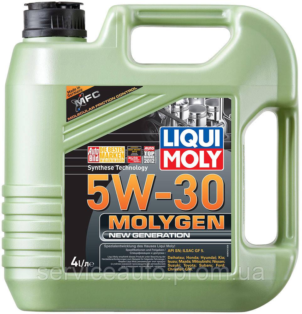 Моторное масло Liqui Moly Molygen New Generation 5W-30 4л. (Lic9042)