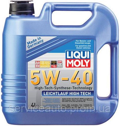 Моторное масло Liqui Moly Leichtlauf High Tech 5W-40 4л. (Lic2595)