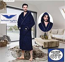 """Натуральный домашний мужской халат """"Belezza"""""""