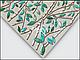 Листовая панель ПВХ на стену Регул, Мозаика (Малахитовый листок), фото 2