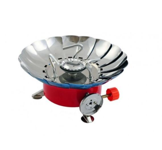 Газовая плита туристическая Kovar с ветрозащитой K-203