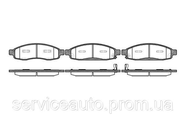 Тормозные колодки дисковые передние Remsa RE 1094.12/ПЕРЕДН INFINITI QX56 05-06