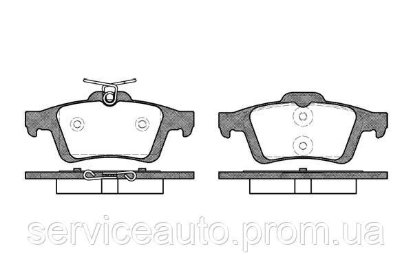 Тормозные колодки дисковые задние Remsa RE 0842.30/ЗАДН FORD FOCUS C-MAX 03-07,FOCUS II 04-;MAZDA 3 03-, 5