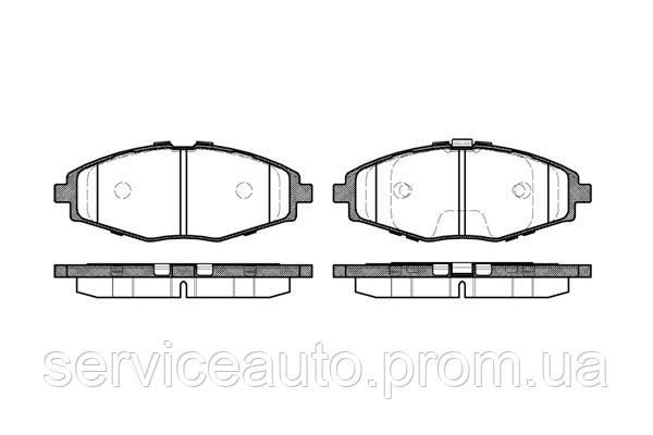 Тормозные колодки дисковые передние Remsa RE 0696.00/ПЕРЕДН GM DAEWOO MATIZ 0,8 1,1 05- LANOS 1,5 99- R13