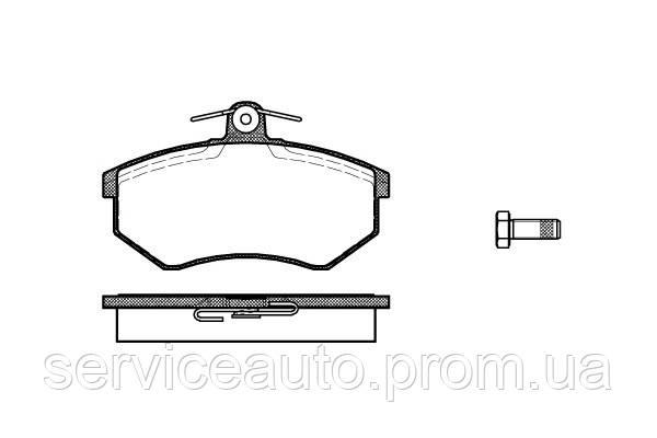 Тормозные колодки дисковые передние Remsa RE 0134.00/ПЕРЕДН SEAT CORDOBA 96-,IBIZA 99-,TOLEDO 94-,AUDI A4