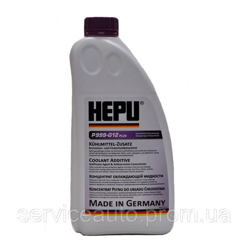 Антифриз HEPU G12plus концентрат 1.5 л Фиолетовый (P999-G12plus)