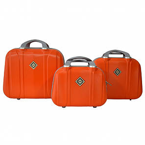 Сумка кейс саквояж Bonro Smile (великий) оранжевий (orange 609), фото 2