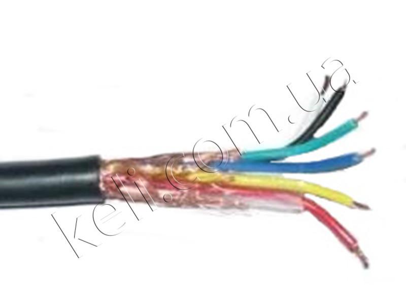 Тензометрический кабель RVVP 6*0.25 м