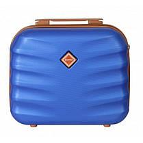 Комплект чемодан + кейс Bonro Next (невеликий) синій, фото 3