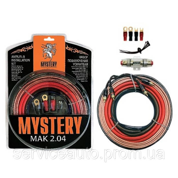 Набор кабелей Mystery MAK 2.04 (2 канала) (11172)