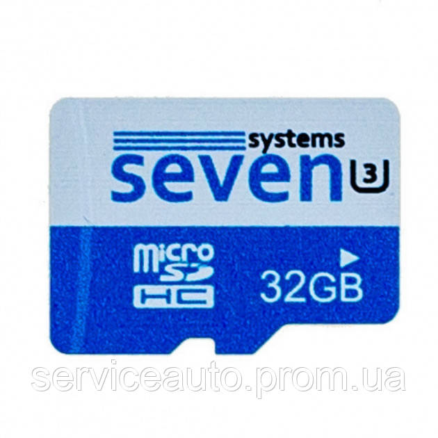 Карта памяти SEVEN Systems MicroSDHC 32GB U3 (27844)