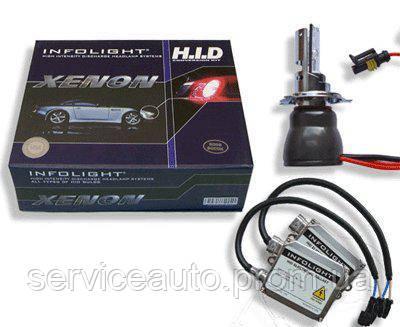 Биксенон. Установочный комплект Infolight H4 HL 6000K 35W (03109)