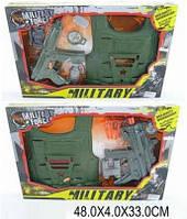 Военный набор  бронежилет,оружие