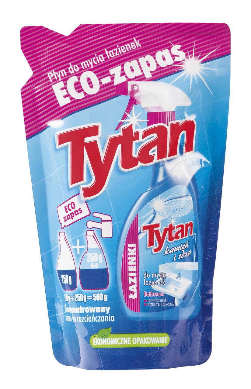 Средство для мытья ванных комнат Tytan 250 мл экопак