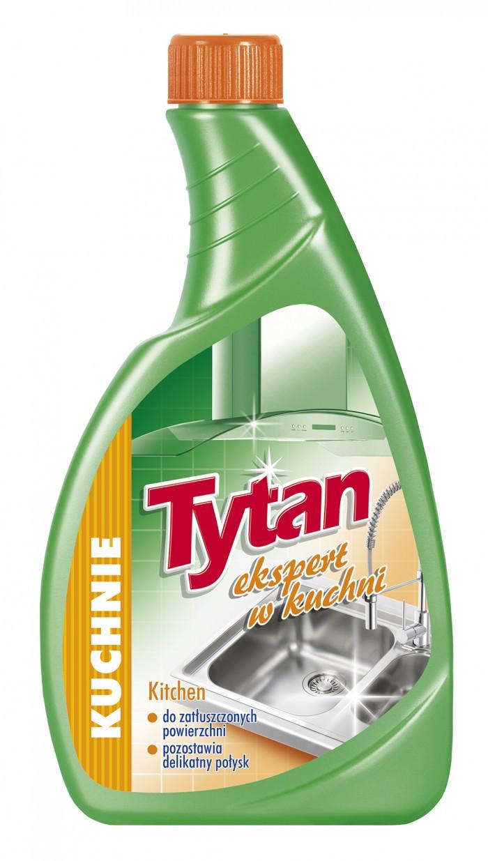 Средство для мытья кухни Tytan 500 мл Эксперт на кухне запаска