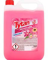 Универсальное средство для мытья Tytan  Цветы 5 л