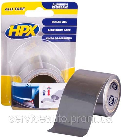 Алюминиевая лента (40 мкм) для ремонта глушителей, герметизации стыков. До 120°С HPX (HPX ZC30)