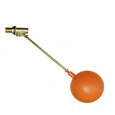 """Поплавковий Клапан 1/2"""" для бака / ємності (латунний) ВП001-15"""
