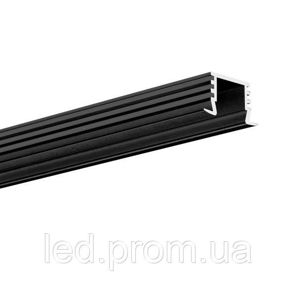 LED-профиль PDS-4-K черный