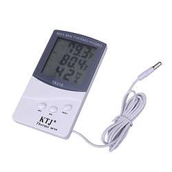 Цифровий термометр, гігрометр Kronos TA 318 + виносний датчик температури (gr_005915)