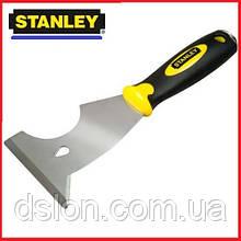 """Шпатель-скребок STANLEY 0-28-206 """"6 in 1 Paint Tool"""" универсальный, ширина лезвия 76мм."""