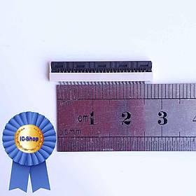 Разъем клавиатуры ноутбука 25pin 1.0mm ( Flip type )