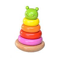Деревянная игрушка пирамидка T65-026