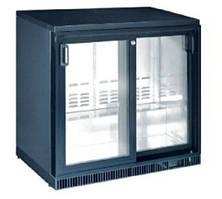 Барний холодильна шафа HURAKAN HKN-GXDB250-SL